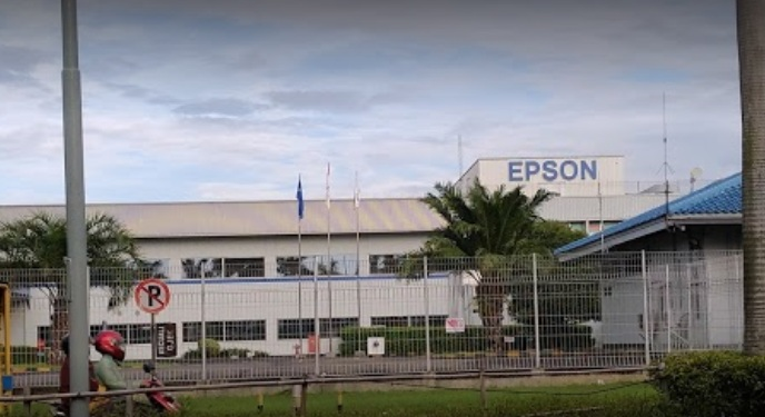 Pabrik PT. Indonesia Epson Industry