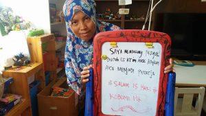 dukungan untuk buruh pabrik aice